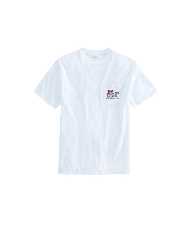 Uncle Sam Whale Pocket T-Shirt