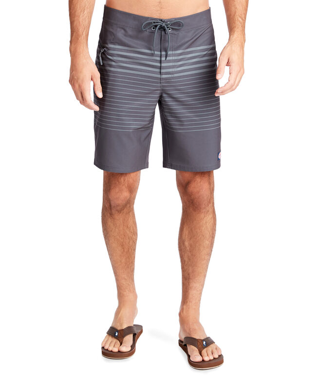 Ledgemont Stripe Tech Board Shorts