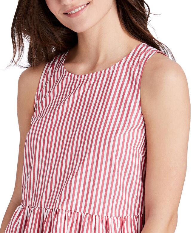 Grier Striped Peplum Top