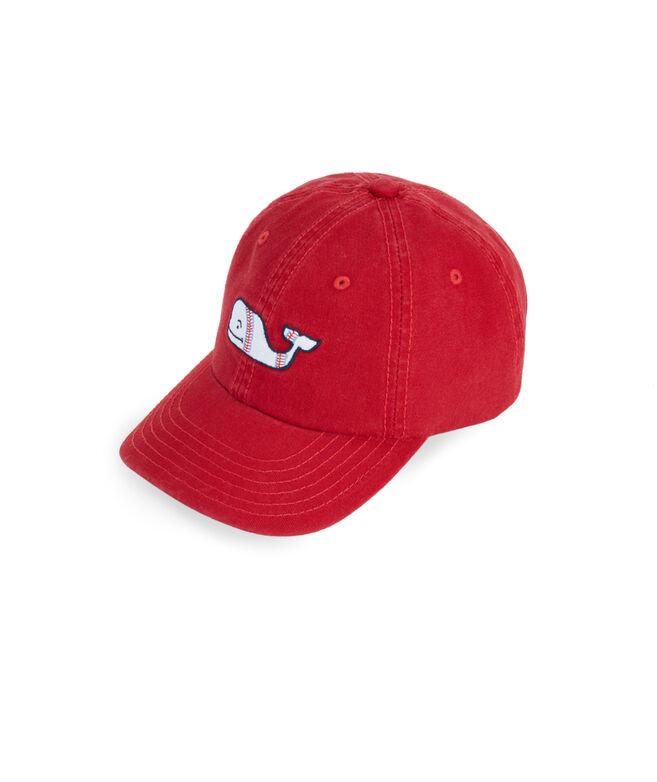 Little Boys Baseball Whale Hat