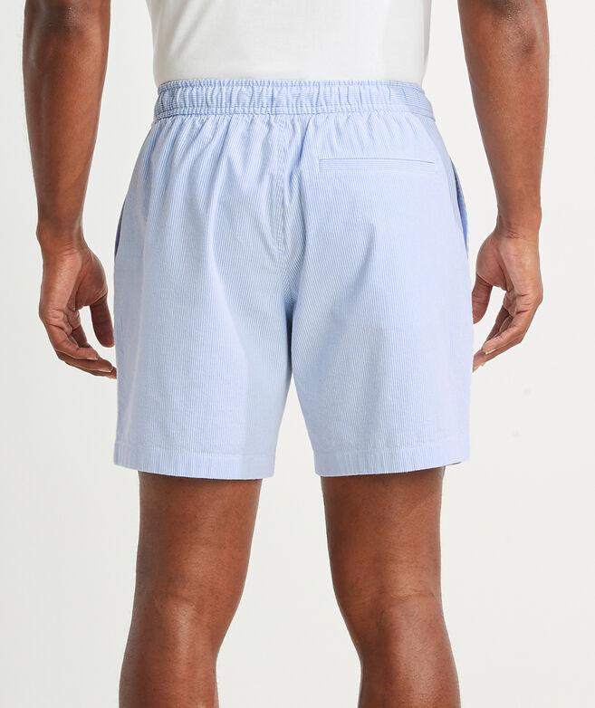 7 Inch Seersucker Jetty Shorts