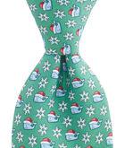 Snowy Santa Tie