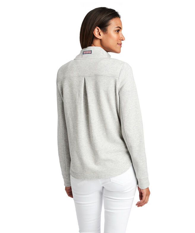 Heather Full-Zip Shep Shirt