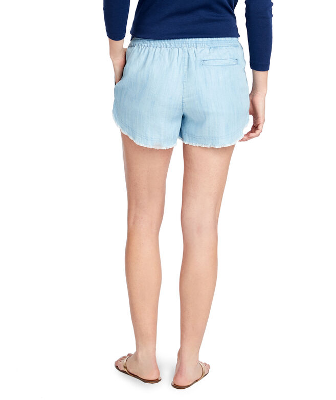 OUTLET Women's Chambray Pull On Short