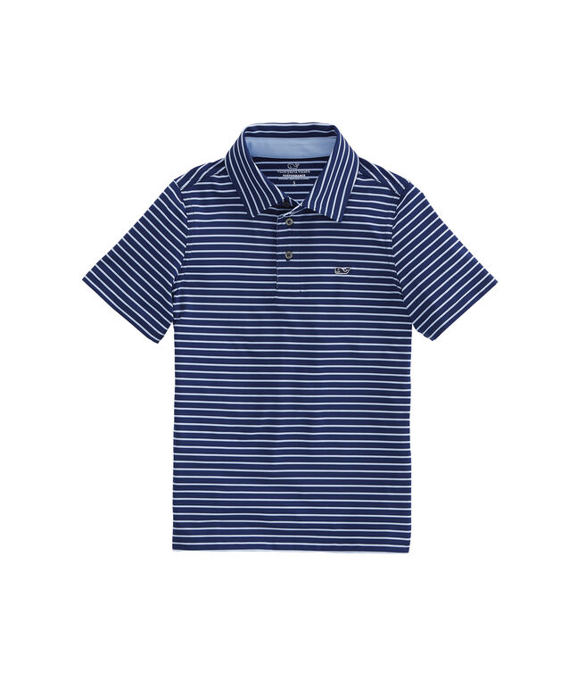 Boys' Range Stripe Sankaty Polo