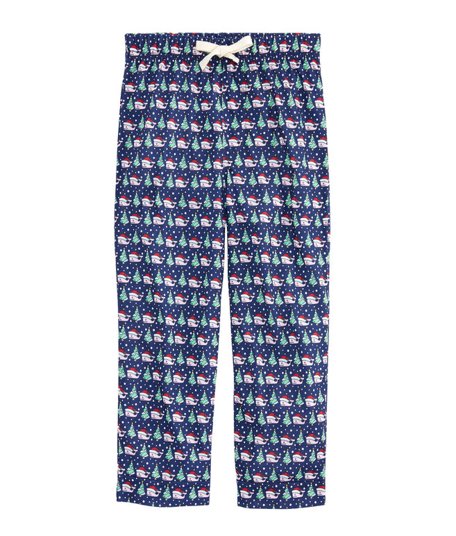 Kids Santa Whale Lounge Pants