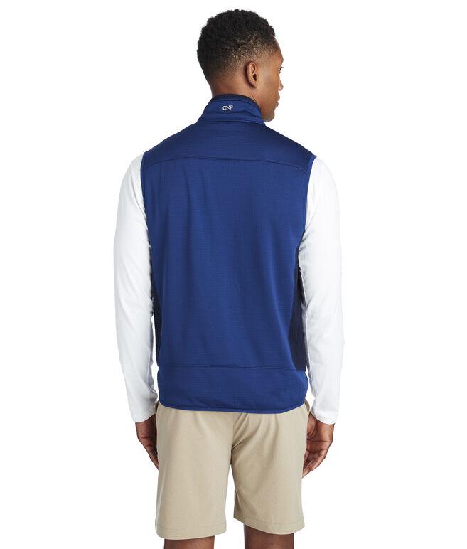 Grid Fleece Vest
