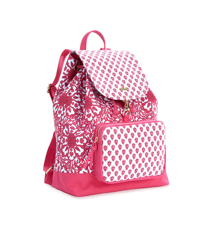 Tile Medallion Printed Daypack