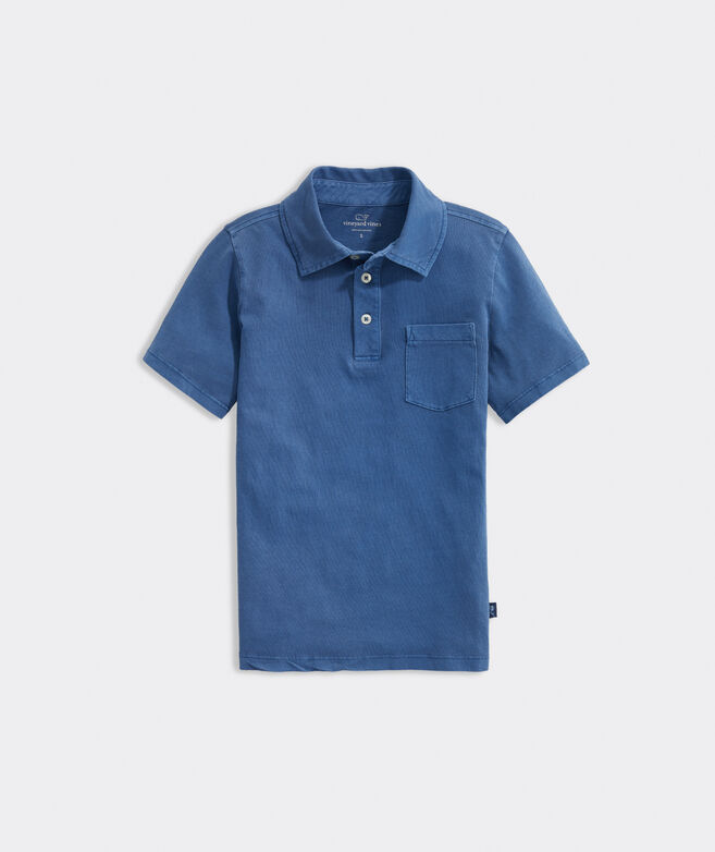 Boys' Sun-Washed Polo