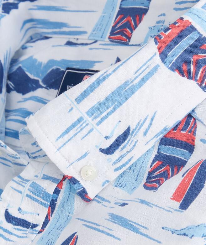 Classic Fit Short-Sleeve Vineyard Murray Shirt