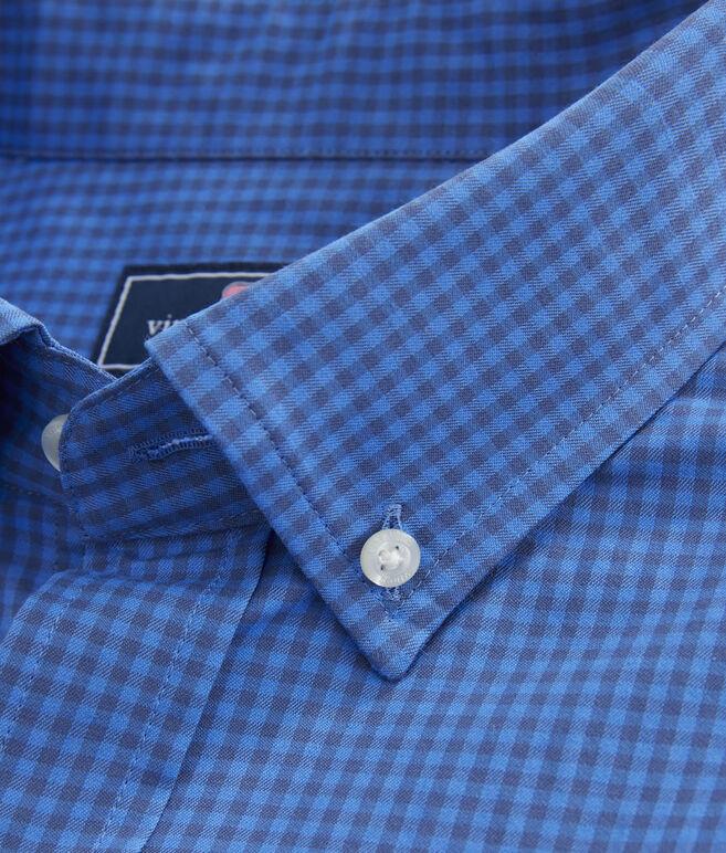 Mink Meadow Check Performance Cotton Classic Murray Shirt