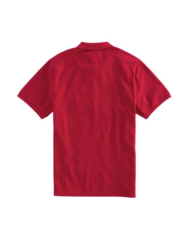 Cincinnati Reds Stretch Pique Polo