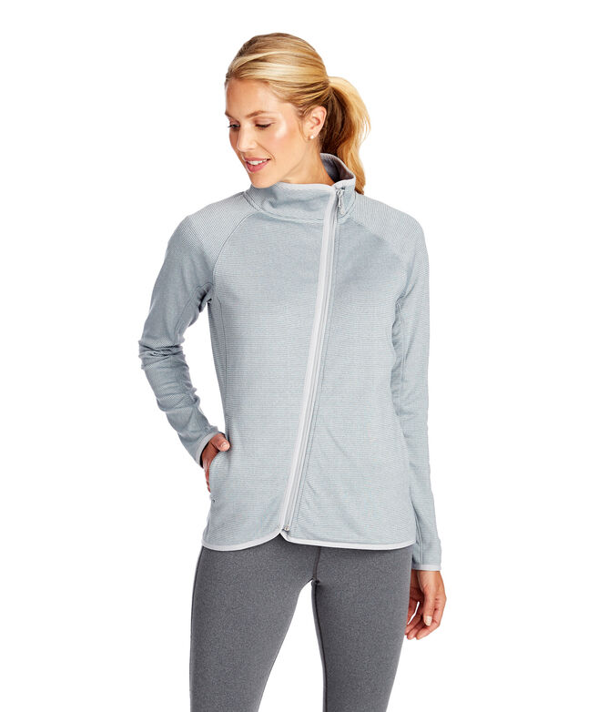 Asymetrical Full-Zip Fleece