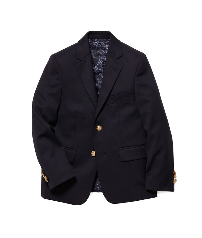 Boys 2-Button Wool Blazer (2T-7)