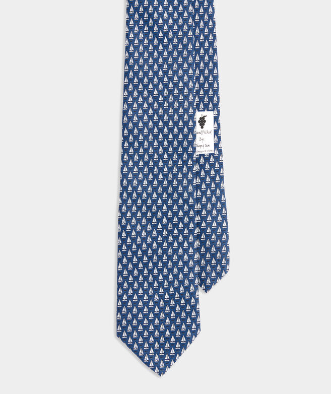 Smiling Whale Printed Tie