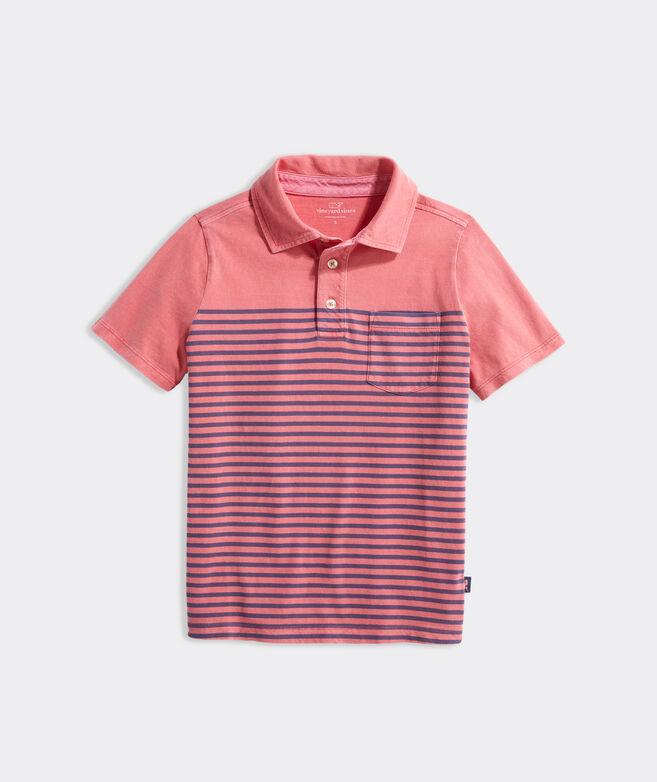 Boys' Stripe Island Polo