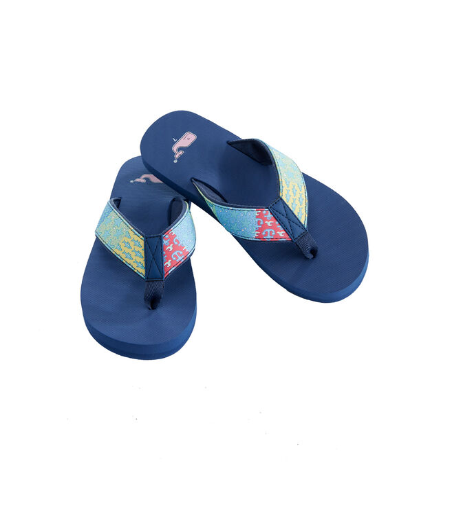 Womens Original Patchwork Classic Flip Flops