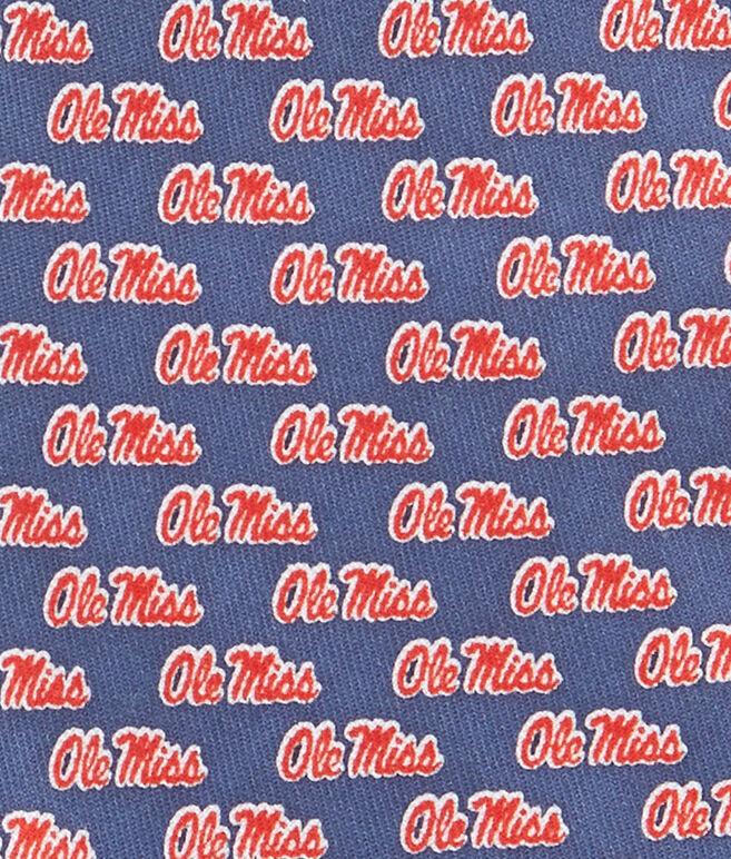 University Of Mississippi Tie