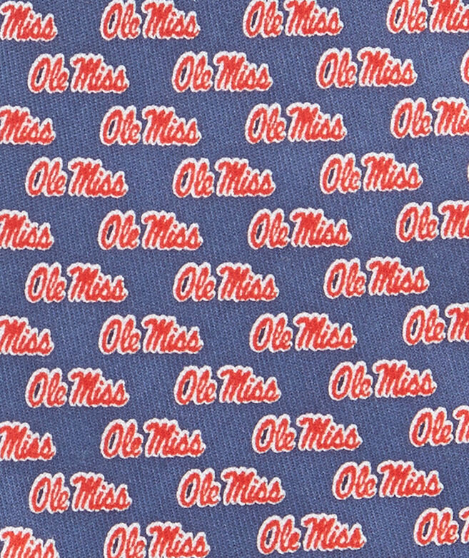 Ole Miss University Of Mississippi Tie