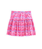 Girls Watercolor Whale Tail Skirt
