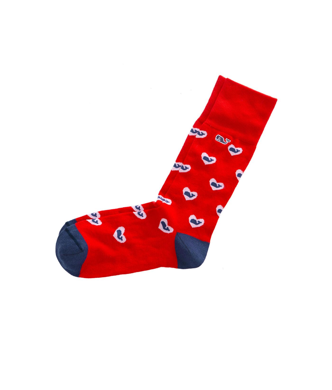Red dress socks outlet