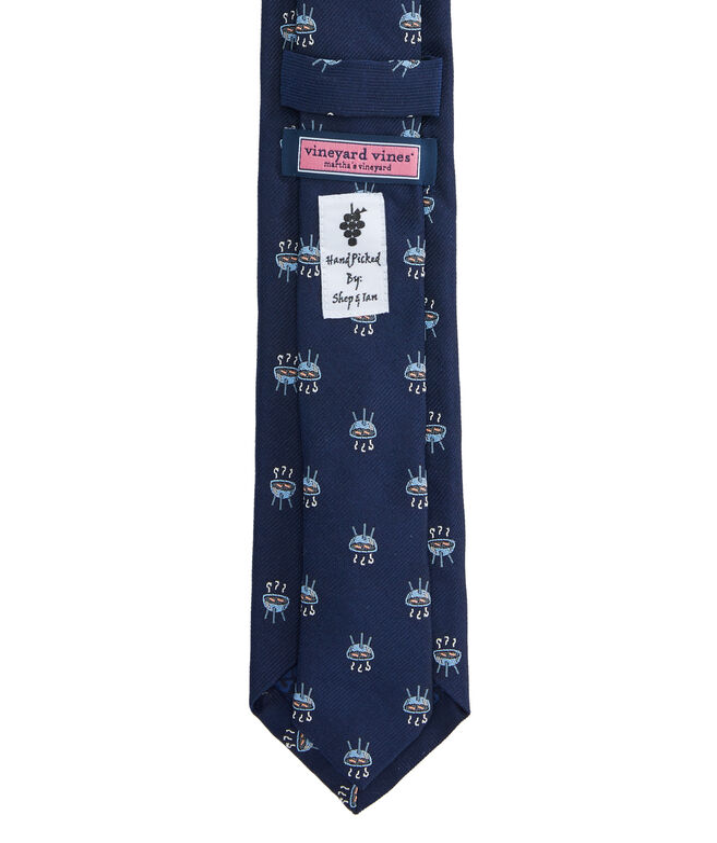 BBQ Skinny Kennedy Tie