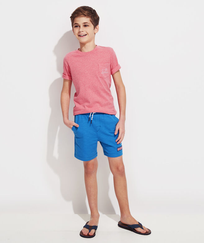 Boys Slub Knit Shorts