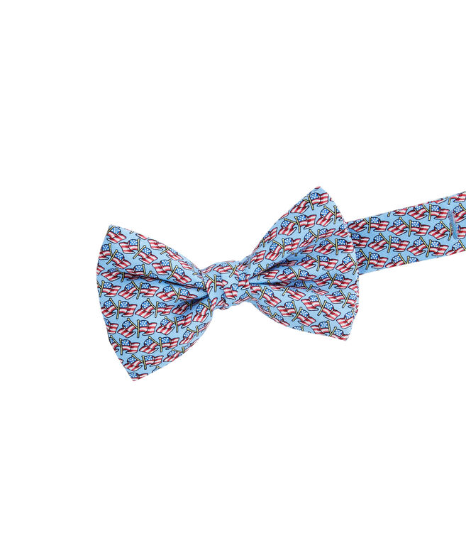 Boys Flying Flags Bow Tie