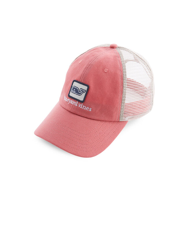 Low Profile Deconstructed Whale Trucker Hat