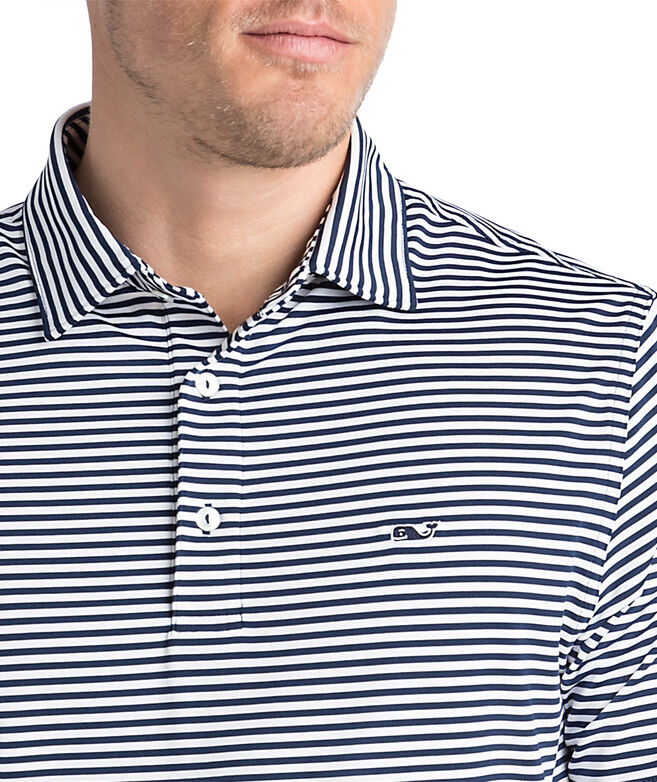 d658e75f Winstead Stripe Sankaty Performance Polo