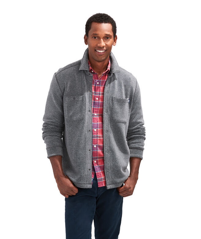 Vineyard Sherpa Shirt Jacket