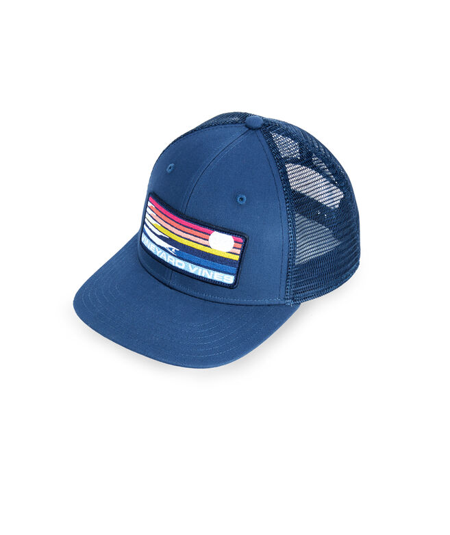Surf Stripe Patch Trucker Hat
