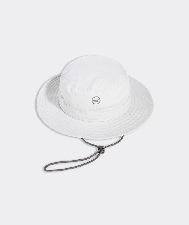 Big & Tall Whale Dot Performance Bucket Hat