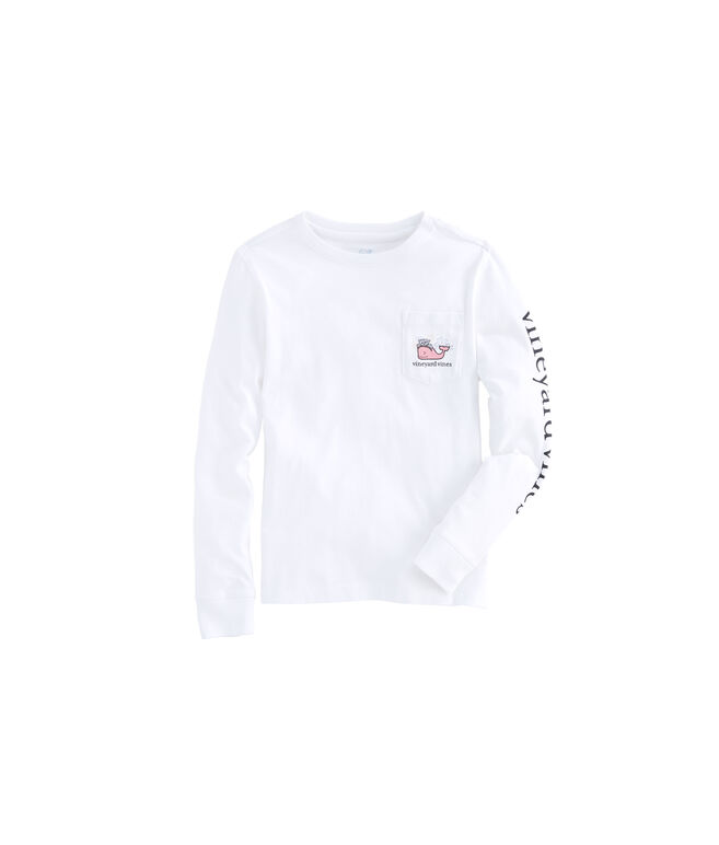 Girls Long-Sleeve New Years 2019 Pocket Tee