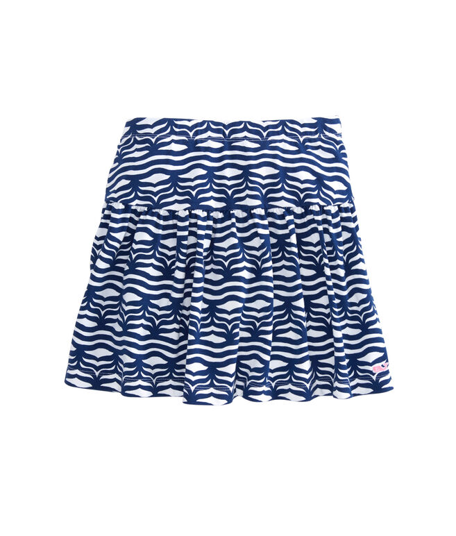 Girls Whale Tail Wave Skirt