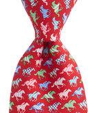 Horse Silks Tie