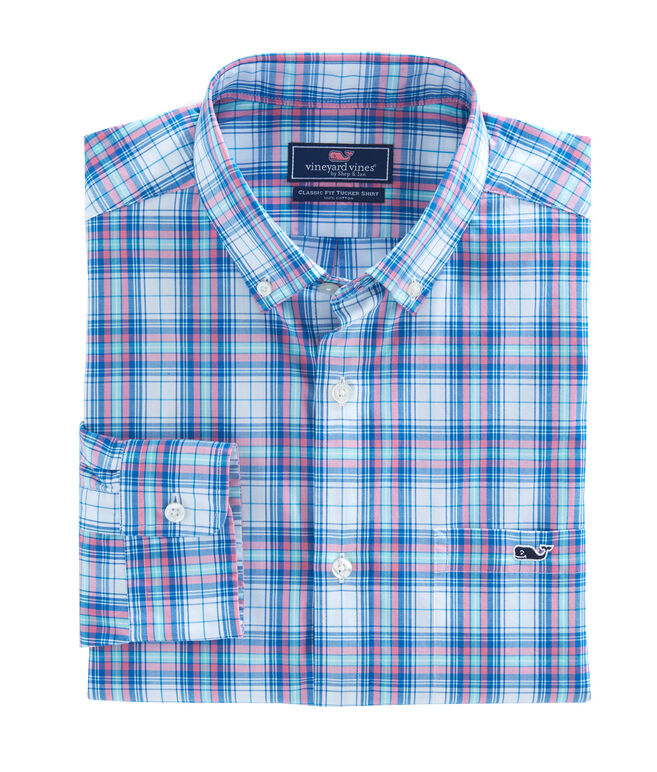 Sunset Pines Plaid Classic Tucker Shirt