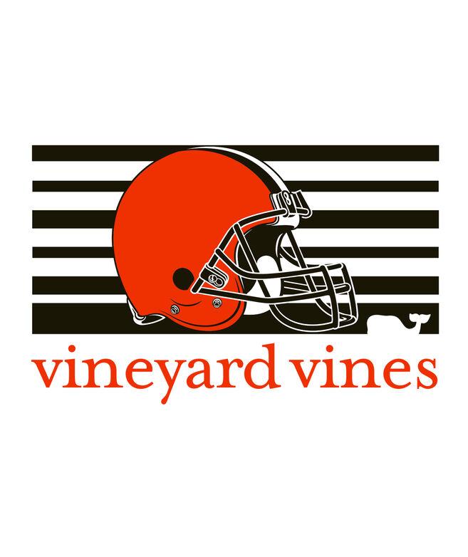 Cleveland Browns Long-Sleeve Block Stripe T-Shirt