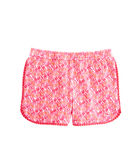 Girls Shell Print Pull On Shorts