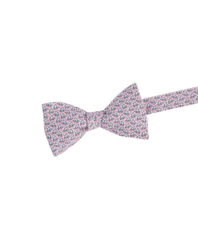 Octopus Printed Bow Tie