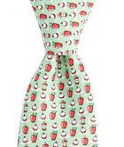 Boys Bobbing For Apples Tie