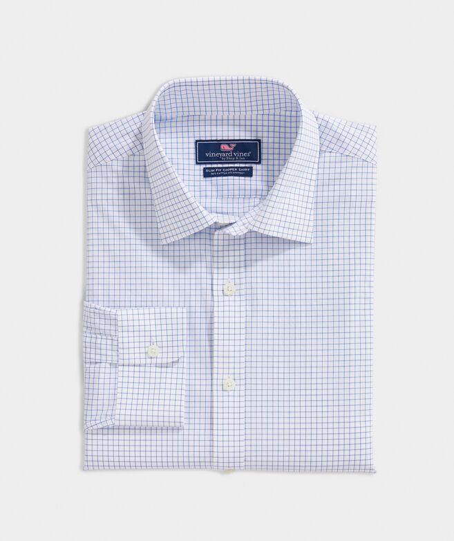 Slim Fit Calabash Check Cooper Shirt