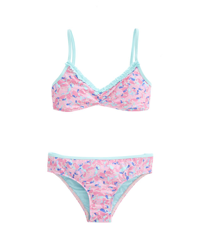 Girls Whale Swirl Bikini