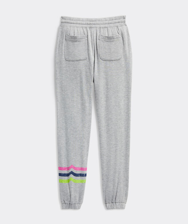 Girls' Dreamcloth Whale Tail Stripe Jogger