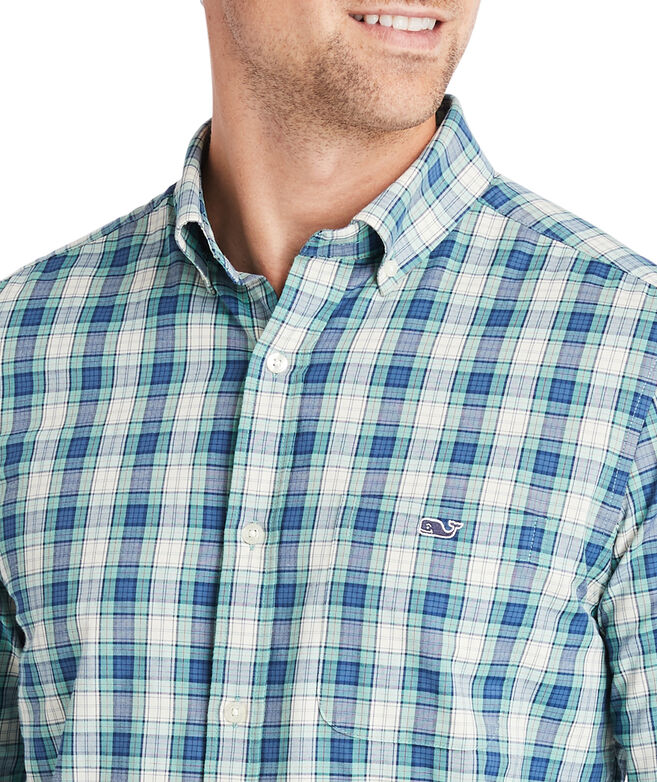Classic Fit Namsen Cotton Performance Tucker Button-Down Shirt