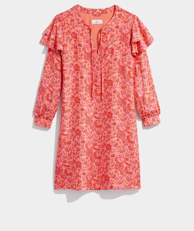 Helenium Floral Vineyard Tunic Dress