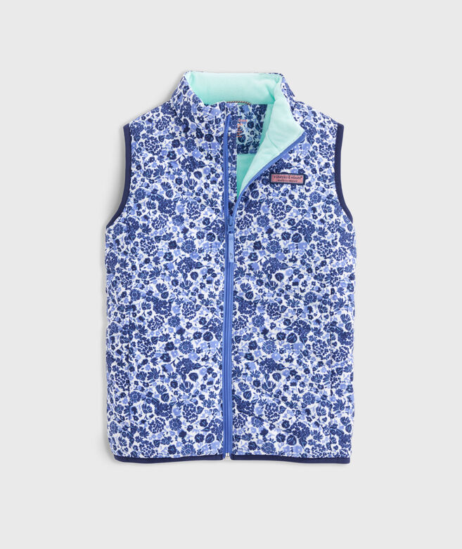 Girls' Printed Mountain Weekend Vest