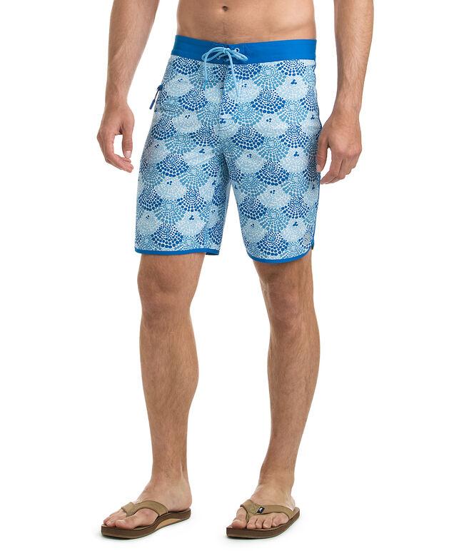 Dot Shells Board Shorts