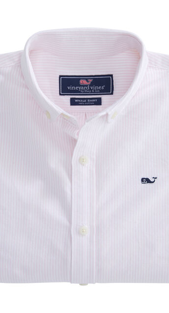 1d2838c4324ce9 Shop Kids Solid Oxford Whale Shirt at vineyard vines