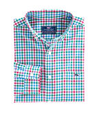 Higgins Beach Gingham Classic Tucker Shirt